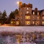 Winter shot of Isle of Eriska Hotel